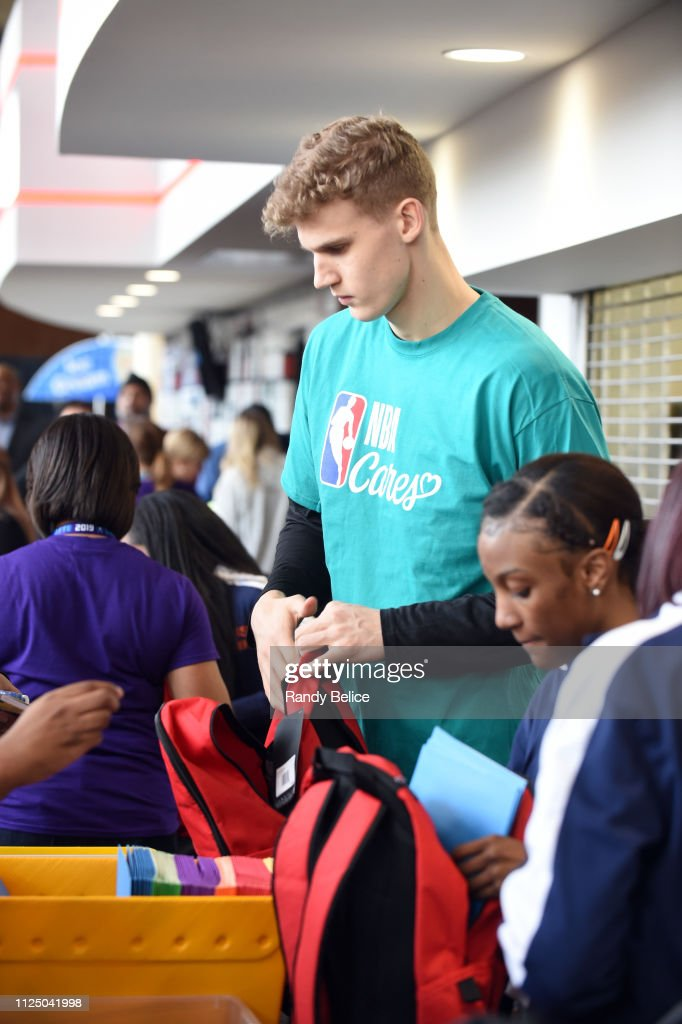 NC: 2019 NBA Cares All-Star Day of Service