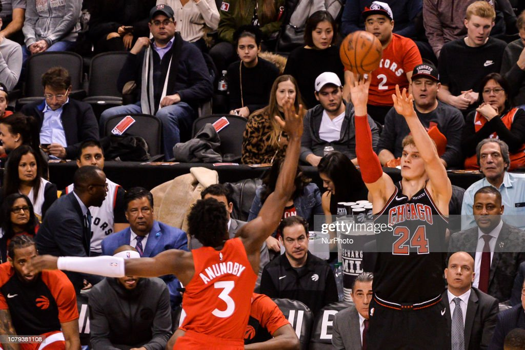 Chicago Bulls v Toronto Raptors : News Photo