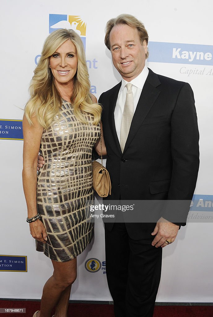 Lauri Peterson and George Peterson attend A Magical Night of Hope at Skirball Cultural Center on May 2, 2013 in Los Angeles, California.