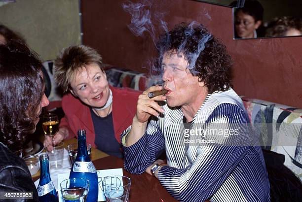 Laurie Anderson and Lou Reed at Josie's in New York City on March 311996