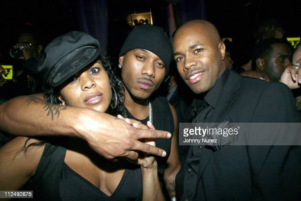 Laurie Ann Gibson Mario Winans and DJ D Nice during Vibe Magazine and Ciroc Present Sean Diddy Combs Press Play Album Release Party Inside at Crobar...