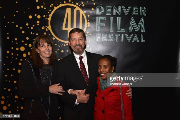 Laurie Austin Steve Austin attend TG arrive at the 40th annual Denver Film Festival on November 9 2017 in Denver Colorado
