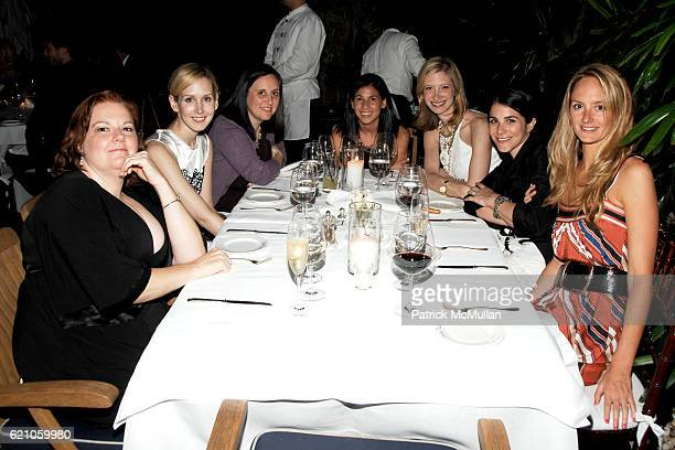 Laurie Brookins Jane Keltner Laird Borelli Arianne Gold Joann Pailey Erica Silverman and Annie Buck attend CHANEL Private Dinner for KARL LAGERFELD...