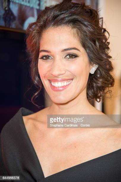 Laurie Cholewa attends Cesar Film Awards 2017 at Salle Pleyel on February 24 2017 in Paris France