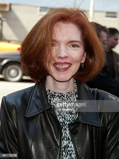 Laurie Craig novelist during Ella Enchanted New York Premiere Outside Arrivals at Clearview Beekman Theatre in New York City New York United States