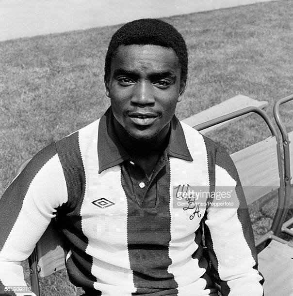 Laurie Cunningham of West Bromwich Albion at the Hawthorns in West Bromwich circa August 1977