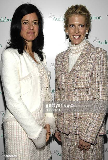 Laurie David and Deirdre Imus 2007 honorees during 4th Annual Women in Conservation Luncheon at The Metropolitan Club in New York City New York...