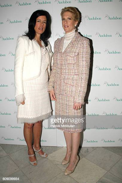 Laurie David and Deirdre Imus attend THE NATIONAL AUDUBON SOCIETY Presents the Rachel Carson Award at The Metropolitan Club on May 22 2007 in New...