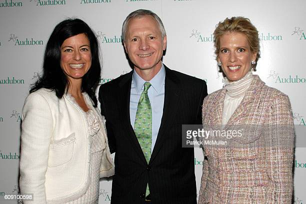 Laurie David John Flicker and Deirdre Imus attend THE NATIONAL AUDUBON SOCIETY Presents the Rachel Carson Award at The Metropolitan Club on May 22...