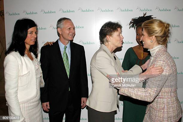 Laurie David John Flicker Frances Beinecke Majora Carter and Deirdre Imus attend THE NATIONAL AUDUBON SOCIETY Presents the Rachel Carson Award at The...