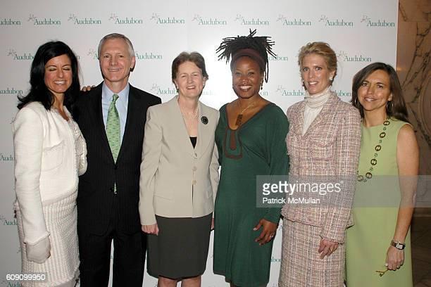 Laurie David John Flicker Frances Beinecke Majora Carter Deirdre Imus and Allison Rockefeller attend THE NATIONAL AUDUBON SOCIETY Presents the Rachel...