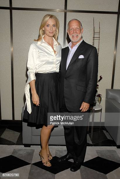 Laurie Dhue and Fred Kleisner attend Audree Putnam Celebrates the ReImagined Morgans Hotel on September 10 2008 in New York City