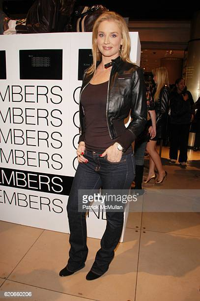 Laurie Dhue attends Exclusive relaunch of MEMBERS ONLY hosted by designer KELLI DELANEY and hairdo CLIPIN EXTENSIONS by KEN PAVES JESSICA SIMPSON...