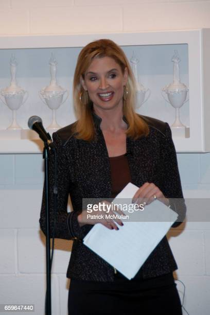 Laurie Dhue attends POWER AND BURDEN OF BEAUTY By RACHEL HOVNANIAN Panel Discussion at 520 W 20th Street on October 29 2009 in New York City
