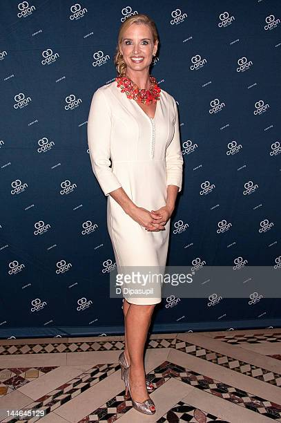 Laurie Dhue attends the 2012 Caron New York Gala at Cipriani 42nd Street on May 16 2012 in New York City
