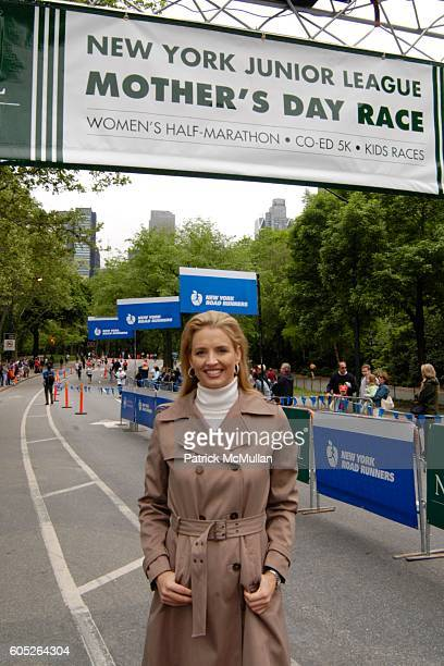 Laurie Dhue attends THE NEW YORK JUNIOR LEAGUE Mother's Day Race to Erase Domestic Violence at Central Park on May 14 2006 in New York City