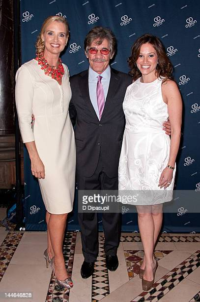 Laurie Dhue Geraldo Rivera and wife Erica Rivera attend the 2012 Caron New York Gala at Cipriani 42nd Street on May 16 2012 in New York City
