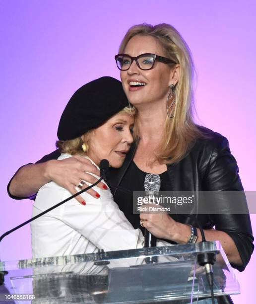 Laurie Dhue TV Journalist and Jane Fonda GCAPP Founder Board Chair Emeritus attend the 2018 Georgia Campaign for Adolescent Power Potential Youth...