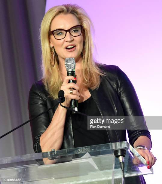 Laurie Dhue TV Journalist attends the 2018 Georgia Campaign for Adolescent Power Potential Youth EmPowerment Summit hosted by Jane Fonda on October 5...