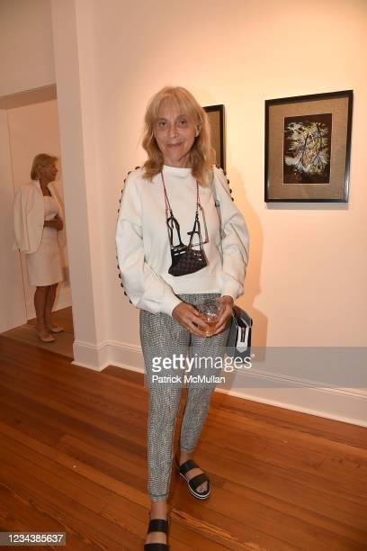 """Laurie Dolphin attends the release of Christophe von Hohenberg's new book """"The White Album of The Hamptons"""" and Bruce Helander's """"Collages and Erased..."""