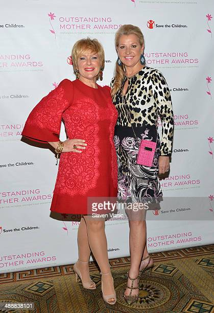 Laurie Dowley and Mindy Grossman attend the 2014 Outstanding Mothers Awards at The Pierre Hotel on May 8 2014 in New York City