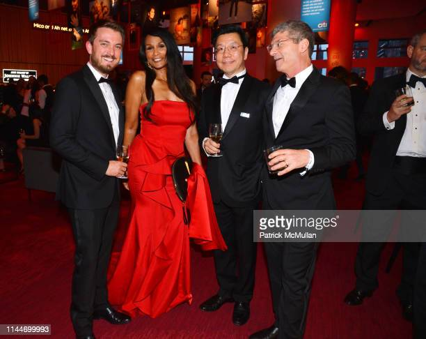Laurie Erlan Beverly Johnson KaiFu Lee and Eben Shapiro attend the Time 100 Gala 2019 at Jazz at Lincoln Center on April 23 2019 in New York City
