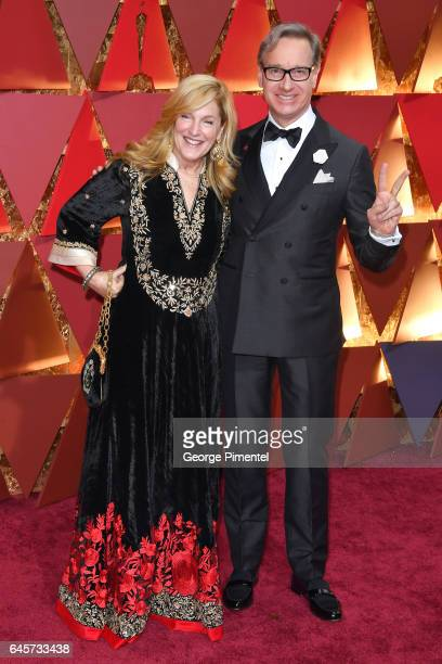 Laurie Feig and diector Paul Feig attend the 89th Annual Academy Awards at Hollywood Highland Center on February 26 2017 in Hollywood California