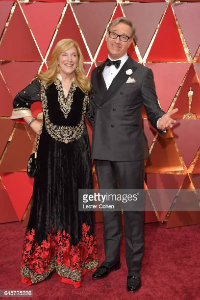 Laurie Feig and diector Paul Feig attends the 89th Annual Academy Awards at Hollywood Highland Center on February 26 2017 in Hollywood California
