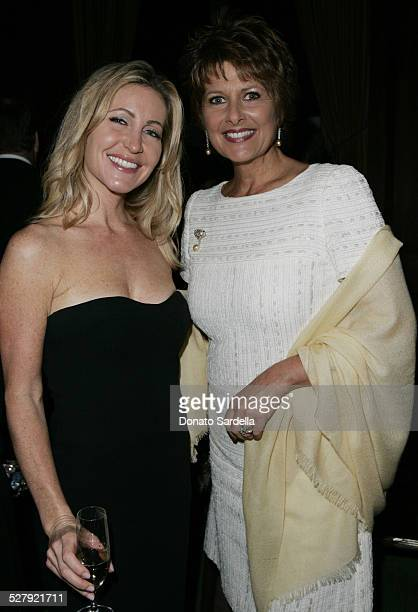 Laurie Feltheimer and Christina Ferrari during NYC Ballet Gala to Benefit The Center Dance Association at The Music Center Inside at Dorothy Chandler...