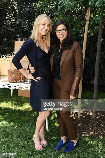 Laurie Feltheimer and Jill EisenstadtChayet attend Heart Annual Brunch With Stella McCartney on April 16 2014 in West Hollywood California