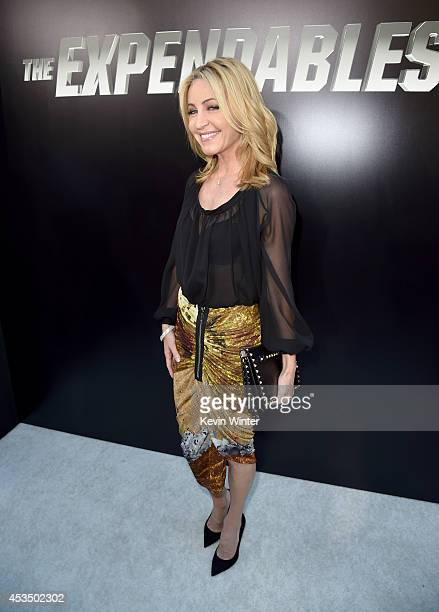 Laurie Feltheimer attends the premiere of Lionsgate Films' The Expendables 3 at TCL Chinese Theatre on August 11 2014 in Hollywood California