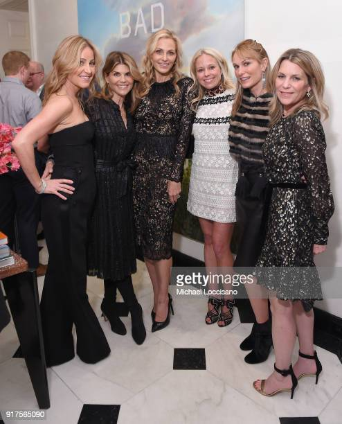 Laurie Feltheimer Lori Loughlin Host Jamie Tisch Shannon Rotenberg Sarah Moritz and Jenny Belushi attend the Country Music Hall Of Fame And Museum...