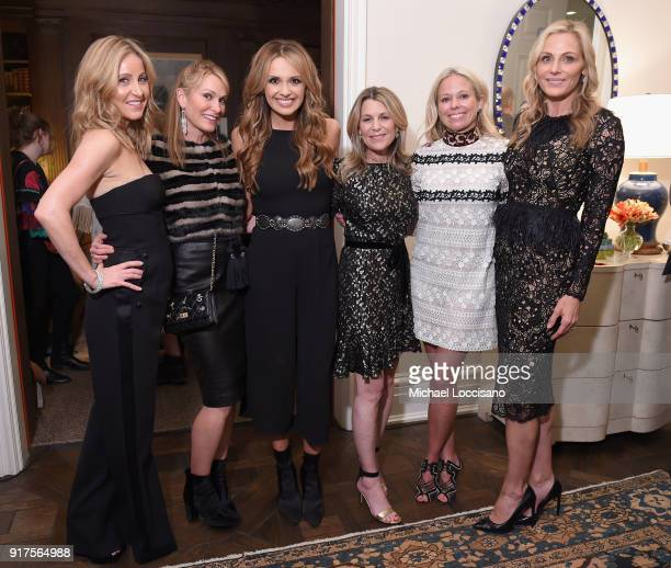 Laurie Feltheimer Sarah Moritz musician Carly Pearce Jenny Belushi Shannon Rotenberg and host Jamie Tisch attend the Country Music Hall Of Fame And...