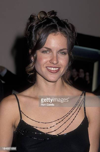 Laurie Fortier attends the premiere of The In Crowd on July 17 2000 at Mann Bruin Theater in Westwood California