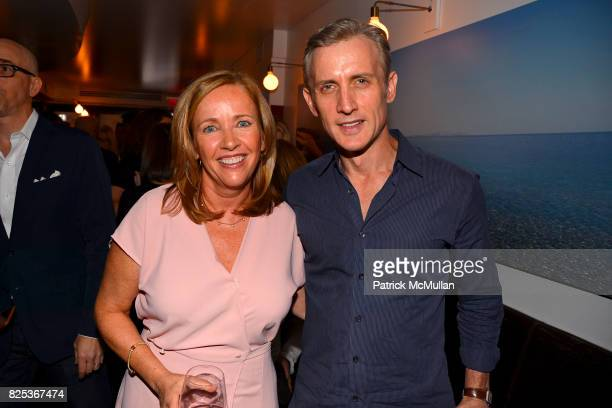 Laurie Gelman and Dan Abrams attend Michael Gelman Celebrates The Launch Of CLASS MOM A Novel By Laurie Gelman at Loi Estiatorio on July 26 2017 in...