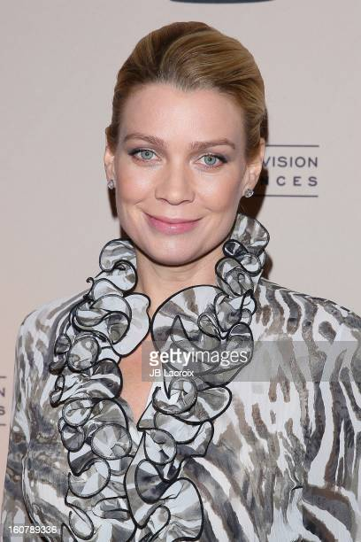 """Laurie Holden attends an evening with """"The Walking Dead"""" presented by The Academy Of Television Arts & Sciences at Leonard H. Goldenson Theatre on..."""