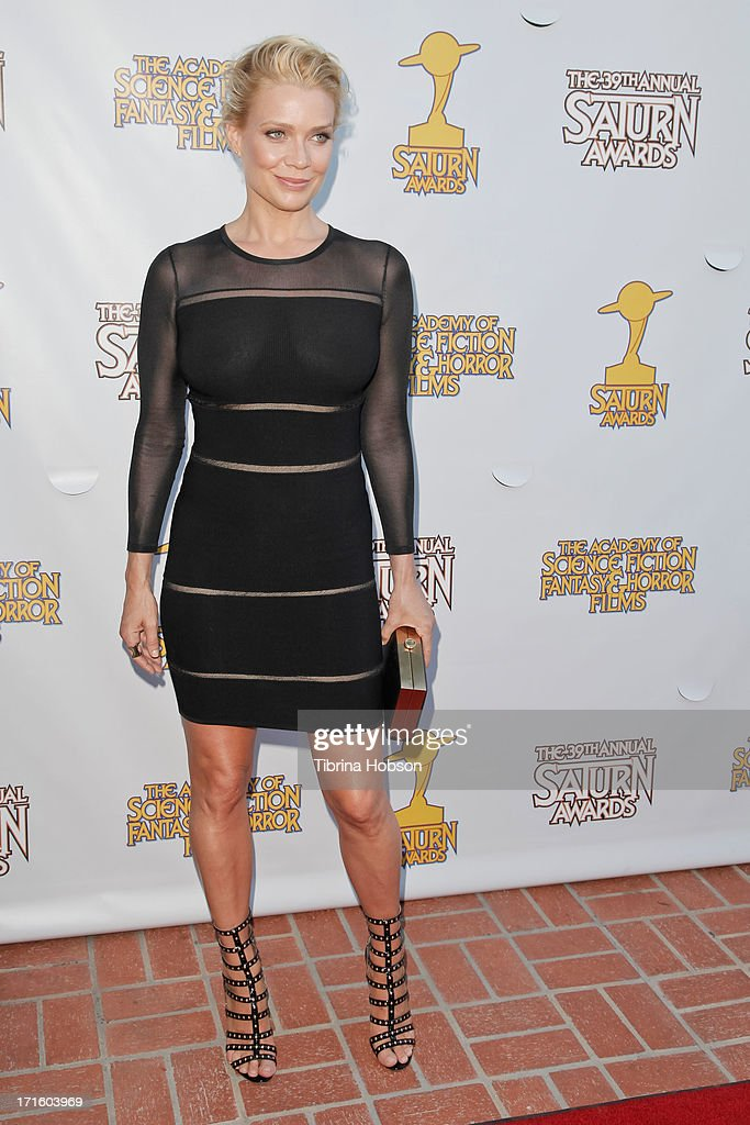 Laurie Holden attends the Academy of Science Fiction, Fantasy & Horror Films 2013 Saturn Awards at The Castaway on June 26, 2013 in Burbank, California.