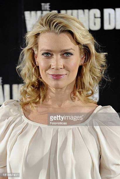 Laurie Holden attends 'The Walking Dead' photocall at the ME Hotel on November 3 2010 in Madrid Spain
