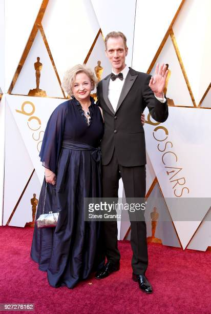 Laurie Jones and Doug Jones attend the 90th Annual Academy Awards at Hollywood Highland Center on March 4 2018 in Hollywood California