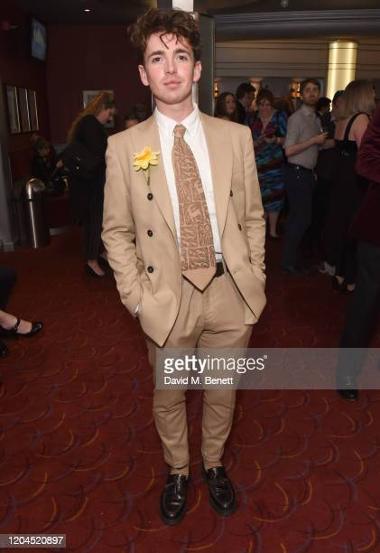 Laurie Kynaston attends The WhatsOnStage Awards 2020 at The Prince of Wales Theatre on March 1 2020 in London England