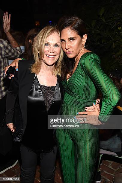 2b3c66716ea Laurie Lynn Stark and guest attend Chrome Hearts Celebrates Art Basel With Laduree  Sean Kelly And