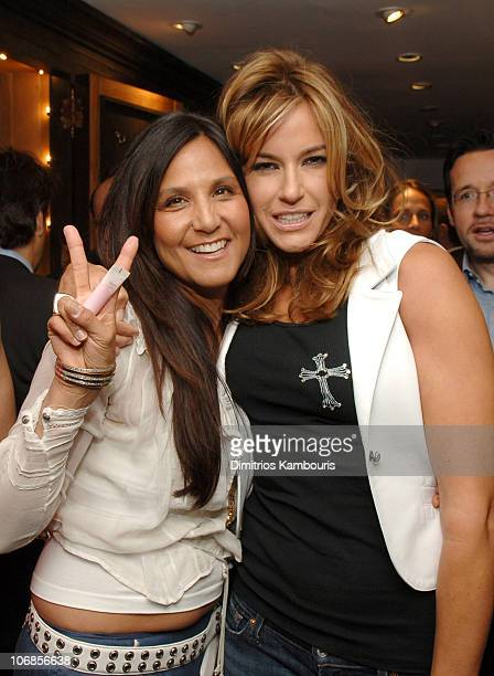 31c8a1ac637 Laurie Lynn Stark and Kelly Bensimon during Chrome Hearts Party for Elle  Accessories Magazine Hosted by
