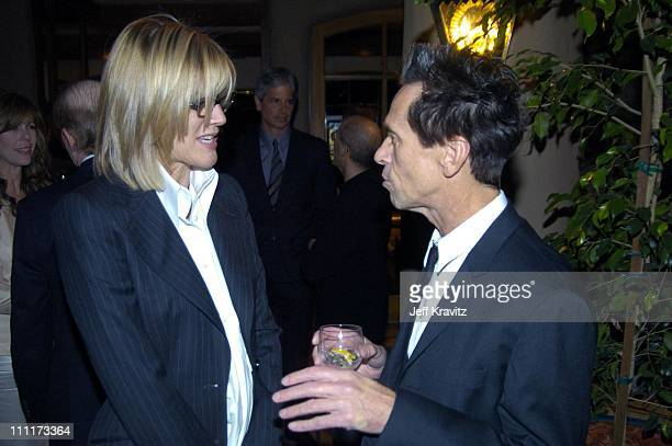 Laurie MacDonald and Brian Grazer during Shoah Foundation Exclusive Event at Amblin Entertainment on Universal Studios in Universal City California...