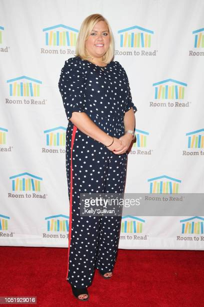 Laurie McMahon attends Room To Read 2018 International Day Of The Girl Benefit at One Kearny Club on October 11 2018 in San Francisco California