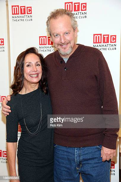 Laurie Metcalf and Daniel Stern attend the 'The Other Place' cast photocall at Manhattan Theatre Club Rehearsal Studios on November 26 2012 in New...