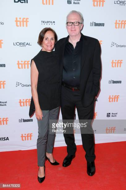Laurie Metcalf and Tracy Letts attend the 'Lady Bird' premiere during the 2017 Toronto International Film Festival at Ryerson Theatre on September 8...