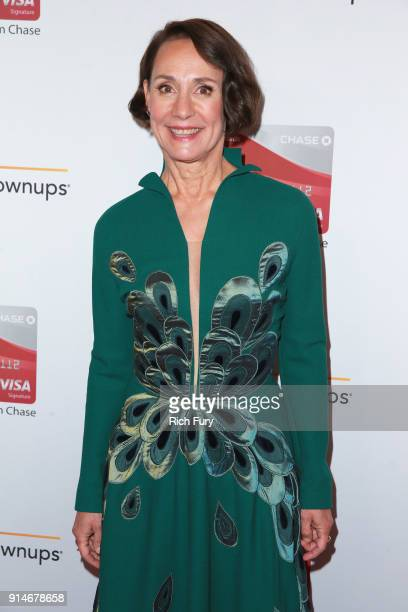 Laurie Metcalf attends AARP's 17th Annual Movies For Grownups Awards at the Beverly Wilshire Four Seasons Hotel on February 5 2018 in Beverly Hills...