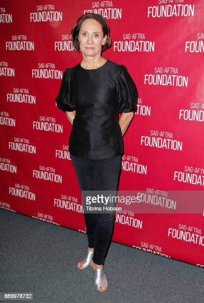 Laurie Metcalf attends SAGAFTRA Foundation's Conversations program at SAGAFTRA Foundation Screening Room on December 9 2017 in Los Angeles California