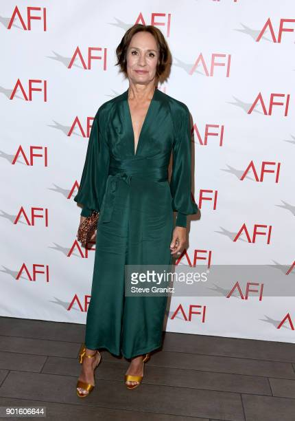 Laurie Metcalf attends the 18th Annual AFI Awards at Four Seasons Hotel Los Angeles at Beverly Hills on January 5 2018 in Los Angeles California