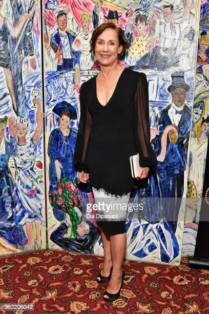 Laurie Metcalf attends the 2018 Outer Critics Circle Theatre Awards at Sardi's on May 24 2018 in New York City